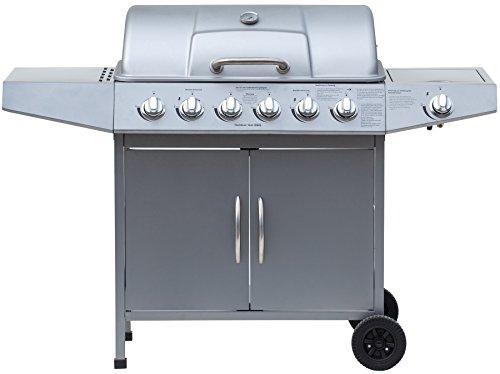 Abdeckhaube Für Gasgrill Jamie Oliver : El fuego gasgrill dayton plus silber cm